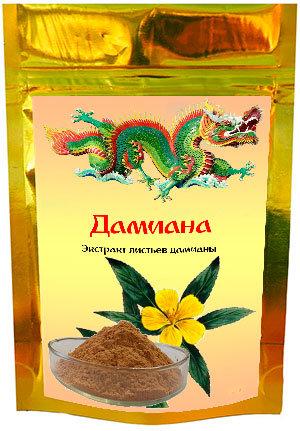 Купить экстракт листьев дамианы