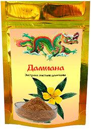Экстракт из листьев дамианы