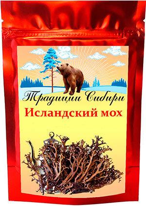 Купить исландский мох (цетрария)