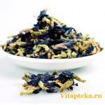 Клитория тройчатая (синий чай)