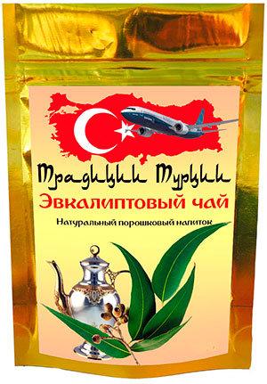 Порошковый эвкалиптовый чай